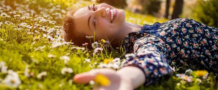 Von Glück und glücklich sein