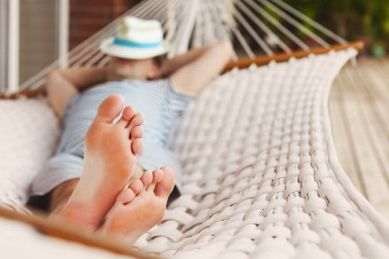 entspannen im Urlaub