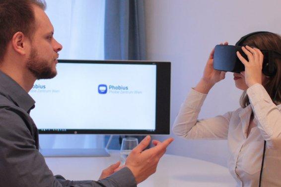 Phobius - Therapie mittels VR