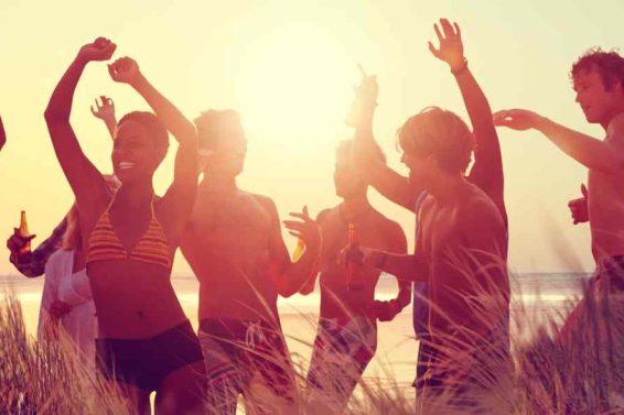 Party Strand Sommer Studo Webinar